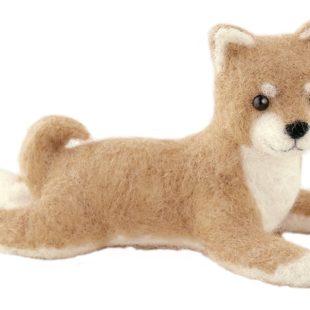 ハマナカ フェルト羊毛キット 柴犬