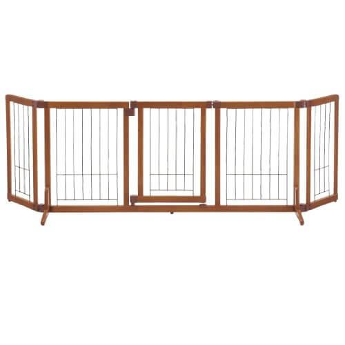 木製おくだけドア付ゲート L