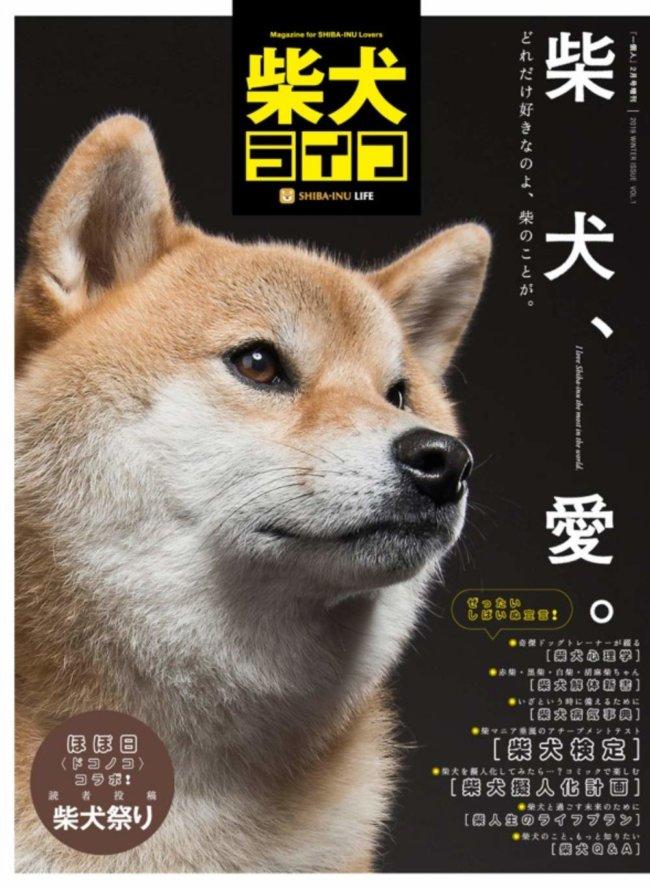 雑誌版『柴犬ライフ』