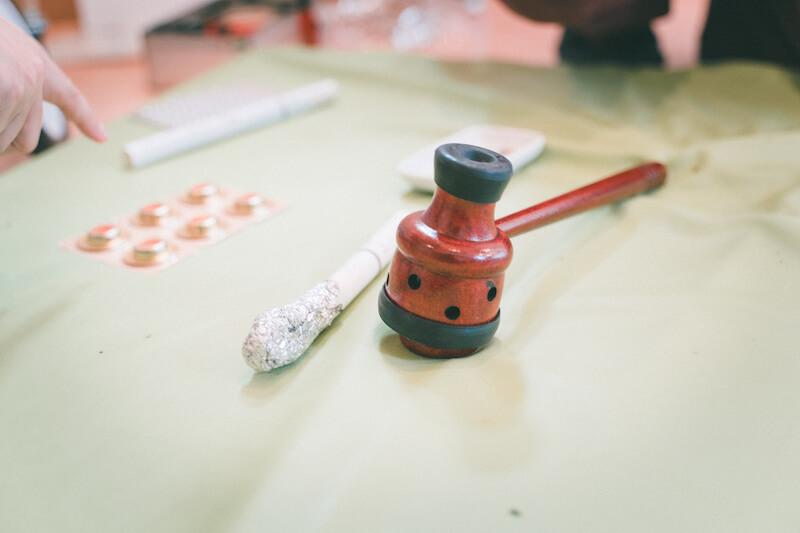 お灸の道具