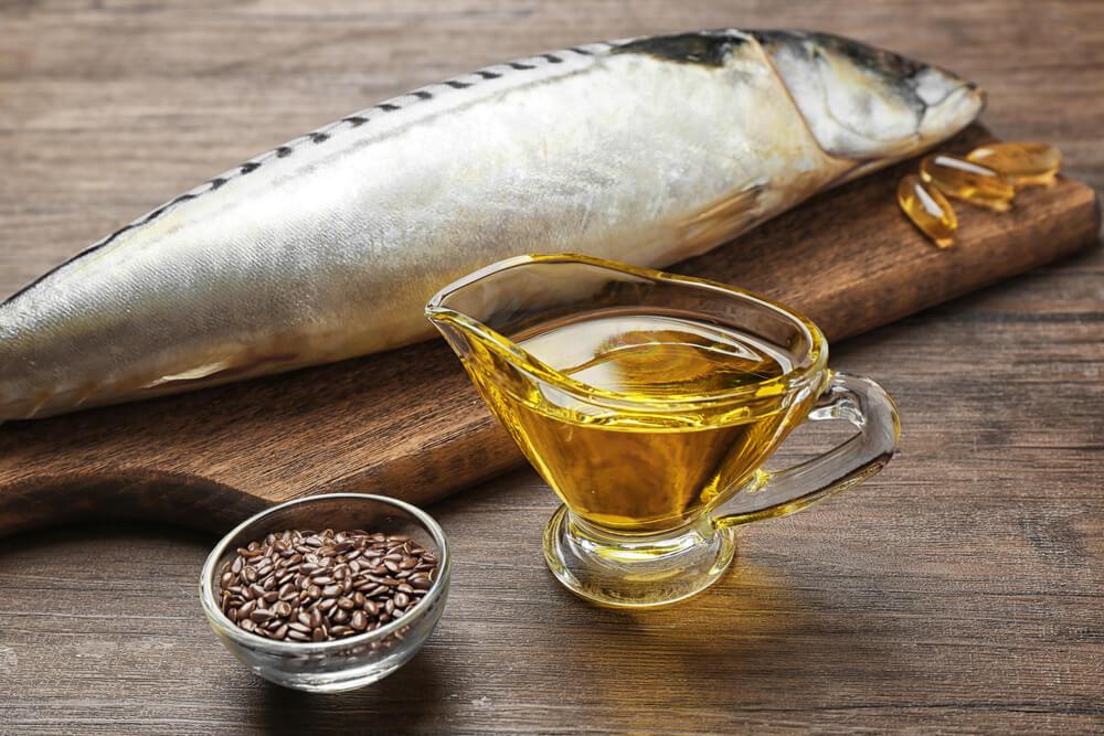 魚,亜麻仁オイル