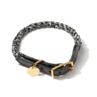 首輪[Black-Silber] コットン