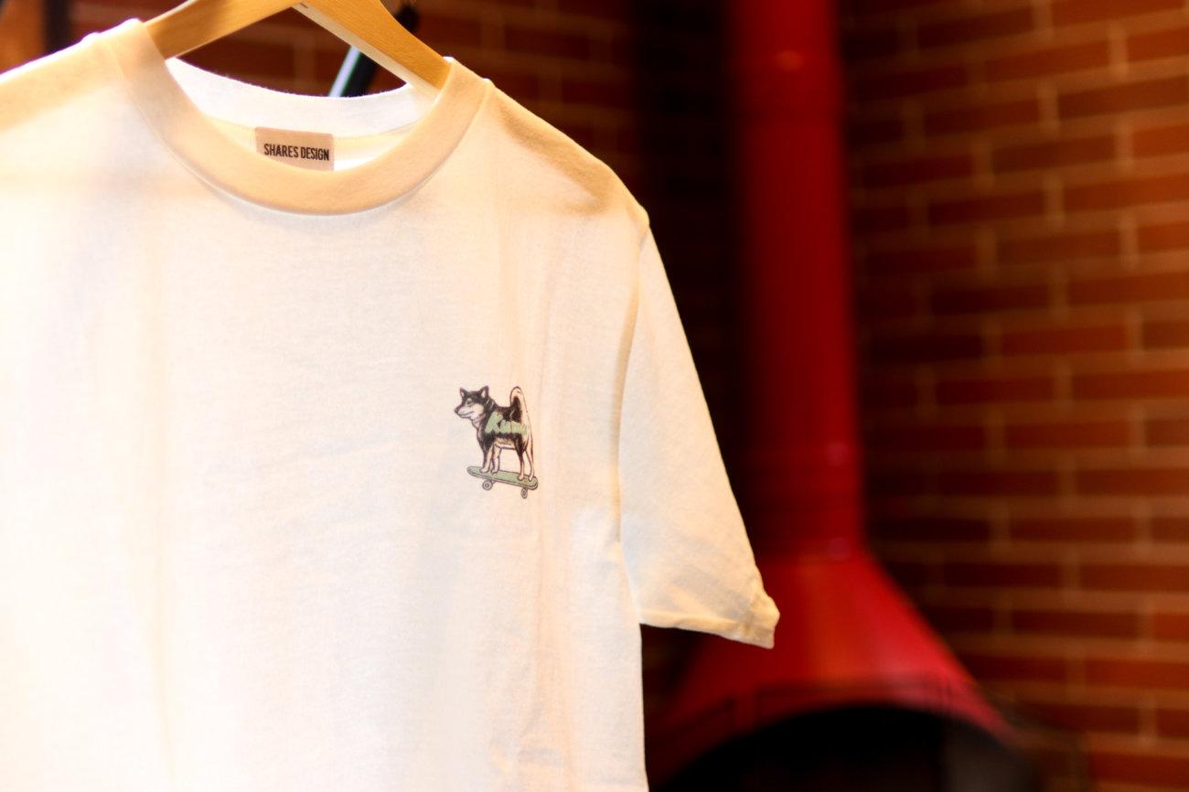 柴犬,ワンポイントTシャツ