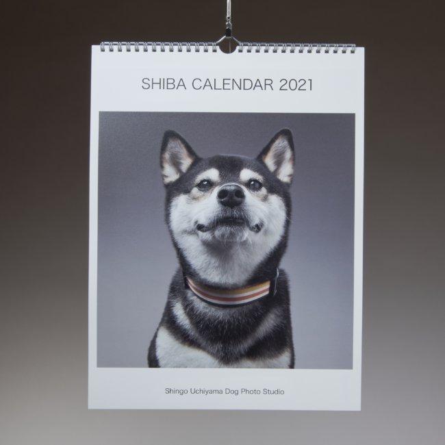 【壁掛け】SHIBA CALENDAR 2021
