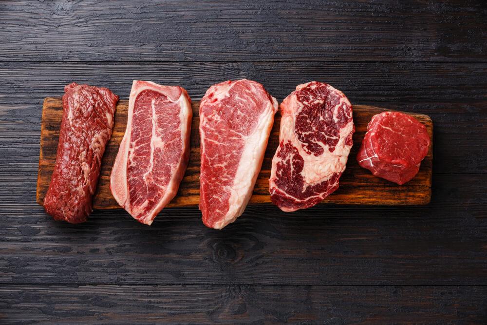赤味の肉類