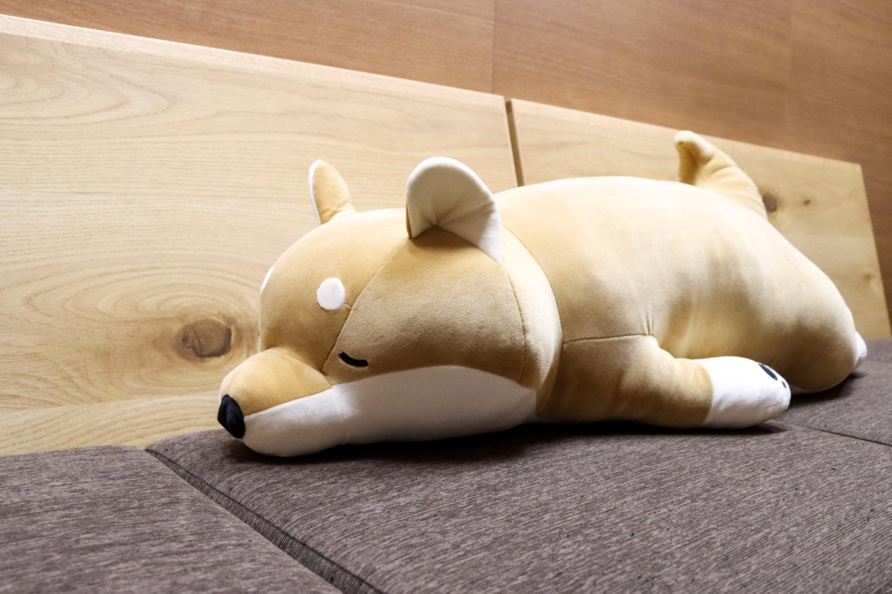 柴犬,どデカぬいぐるみ,プレゼント