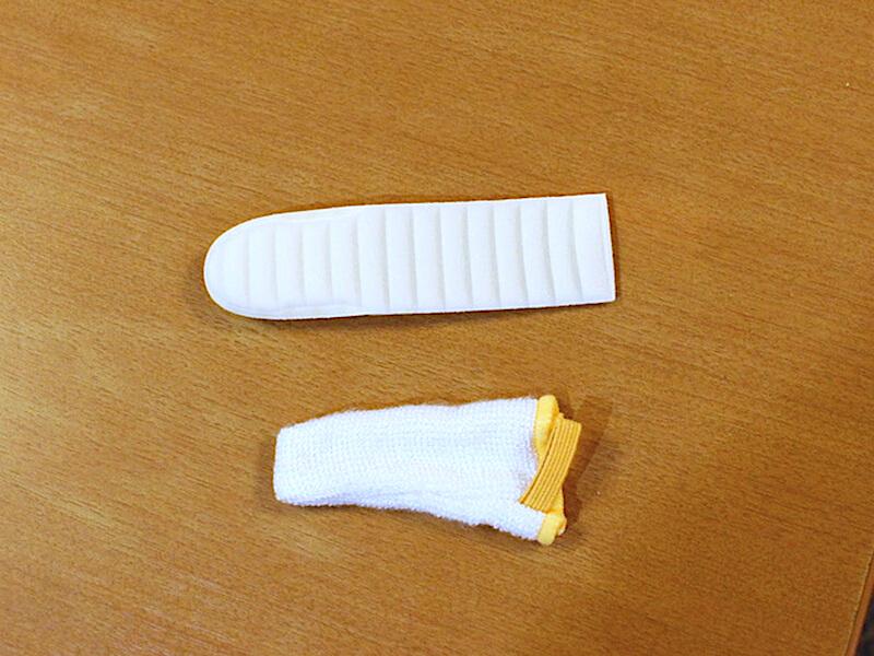 指サックタイプ歯磨き